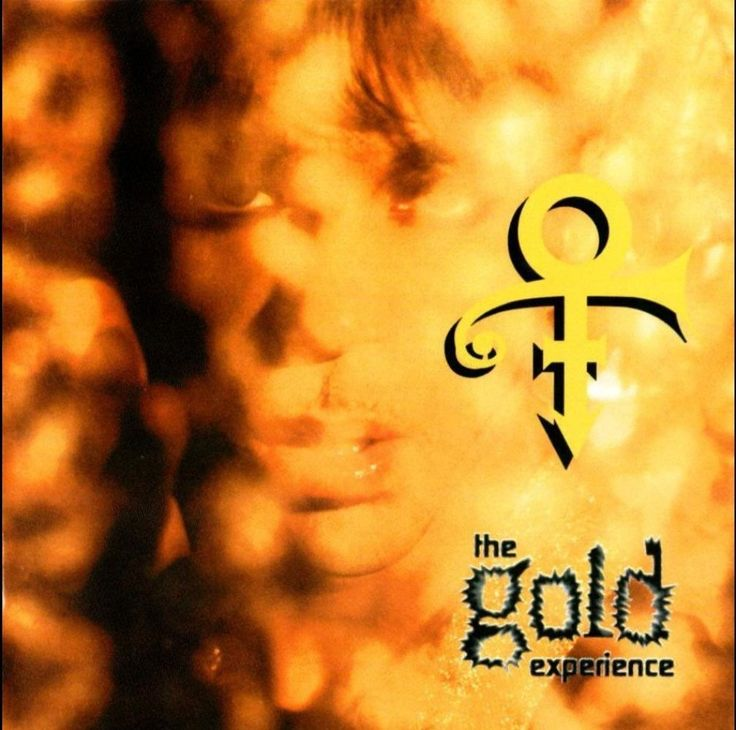 Prince Album Covers, The Gold Experience (1995)