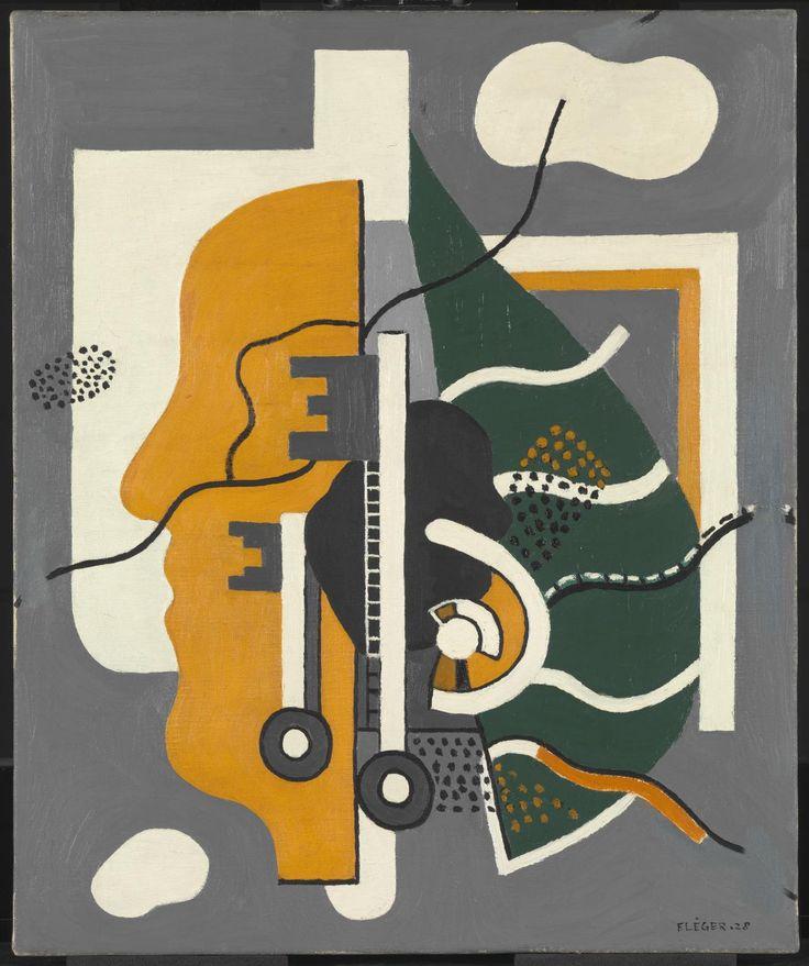 'Keys (Composition)' by Fernand Léger, 1928