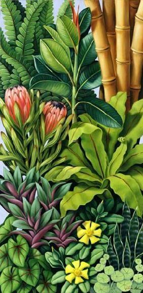 ~ Catherine Abel - Foliage III, 2005, oil on canvas