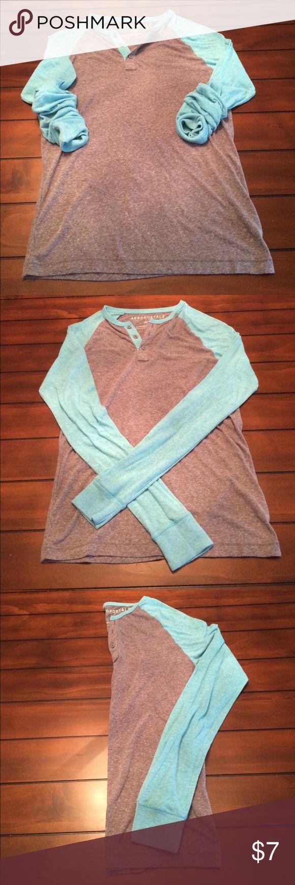 Long Sleeve Henley Lightweight Super Soft long Sleeve Henley. Aeropostale Shirts Tees - Long Sleeve