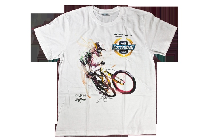 Joy Ride Open 2012 t-shirt