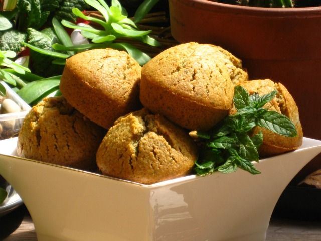 Muffins alla menta   #vegan