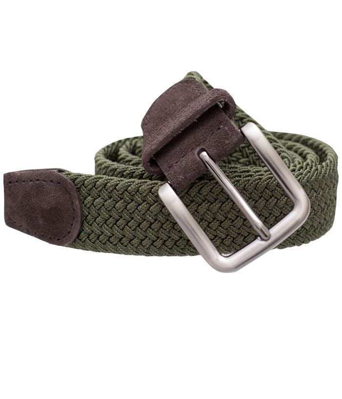 Braided - Olive (Belt)   Ties, Bow Ties, and Pocket Squares   The Tie Bar