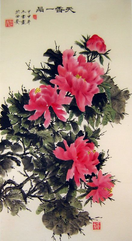 best  chinese flowers ideas on   chinese painting, Beautiful flower