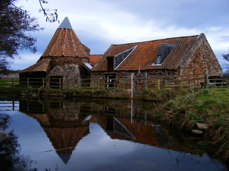 Preston Mill, East Linton, Scotland, as seen in episode 12 of Outlander.