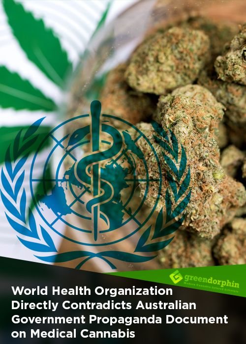 World Health Organisation (WHO) published a Pre-Review report on Cannabidiol (CBD), that directly contradicts the Therapeutic Goods Administration (TGA) claims. While the TGA report claims that there is no evidence for the effectiveness of cannabis for epilepsy in adults, the WHO report says the opposite.