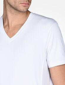 ARMANI EXCHANGE SIGNATURE V-NECK T-SHIRT S/S Knit Top U e