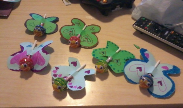 Butterflies for my Valentines :)