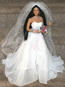 cindy mcclure bride dolls | ... Love Native American Indian or Traditional Bride Doll McClure | eBay