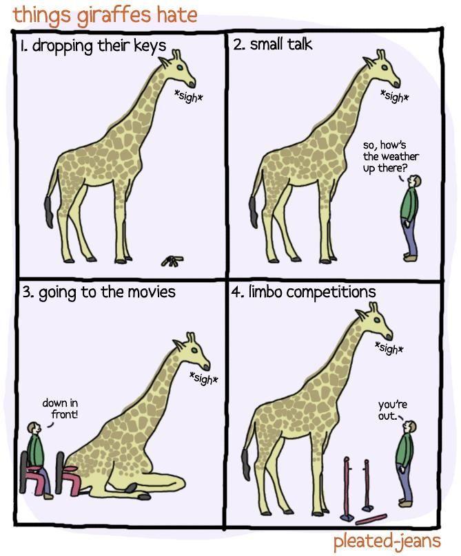 Giraffe humor