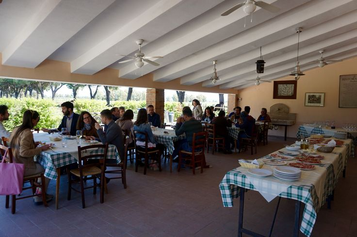 Lunch at Tenuta San Carlo with traditional Tuscan food