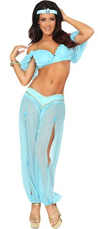3WISHES.COM - Buy Sexy Belly Dancer Costumes, Genie Costumes, Sexy Harem Costume, Belly Dancing Outfit, Belly Dance Costumes | See more about Arabian Princess, Princess Costumes and Dancing Outfit.