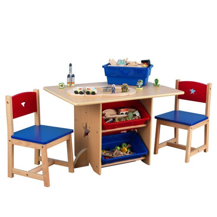 Kids Table Chairs Set  www.bobbiejosonestopshop.com  #BobbieJosOneStopShop #Activity #Table #Chairs #Toddlers #Furniture #Arts #Crafts #Kids #StorageBins #Wooden