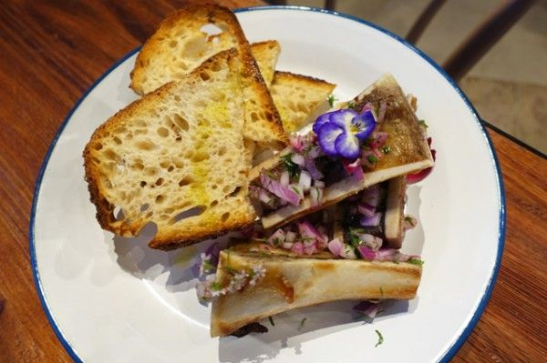 Bone Marrow on Toast ($15) - The Garden - Does My Bomb Look Big In This?