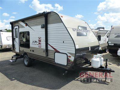 New 2017 Starcraft AR-ONE 17TH Toy Hauler Travel Trailer at General RV | North Canton, OH | #142906