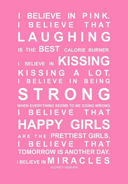 Tennager Drama Quotes!!!! Cute quotes, I believe in pink