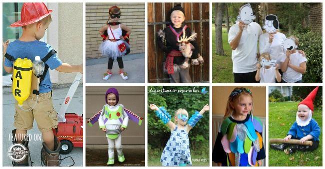 20 {Easy} Homemade Costumes for Kids