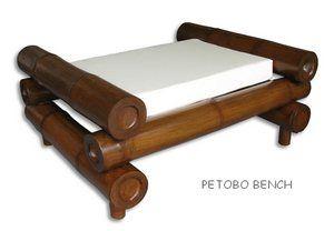 bamboo bench   bench with petung bamboo large bamboo