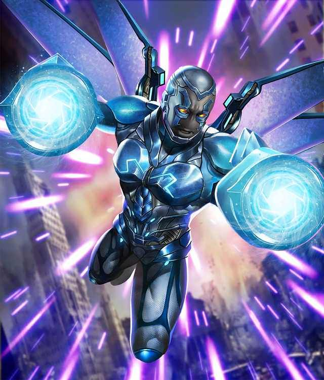 Injustice 2 Mobile Roster Blue Beetle Dc Comics Heroes Dc Comics Art