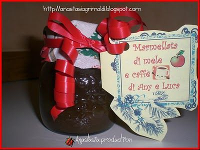Marmellata di mele e caffè