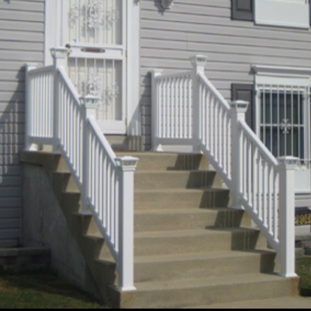 Best Front Step Railing For The Home Pinterest Railings 400 x 300