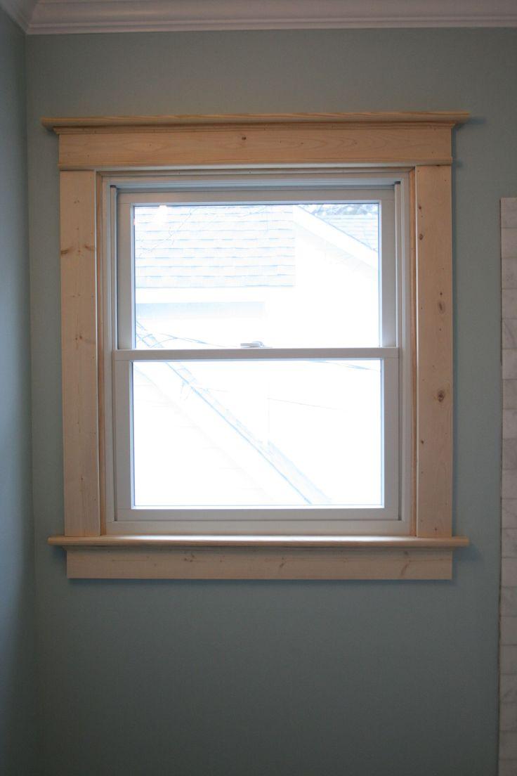 363 Best Window Trim Ideas Images On Pinterest Window Trims Interior Window Trim And Window