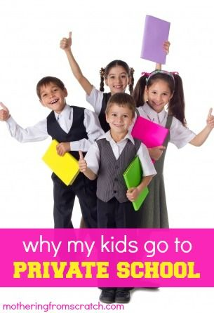 why her kids go to private school...and why mine might start!
