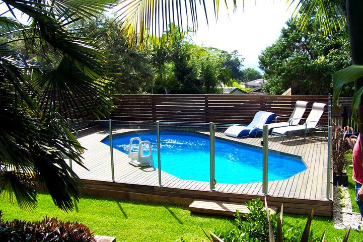 Spectacular Deck Plans For Oval Above Ground Pools With