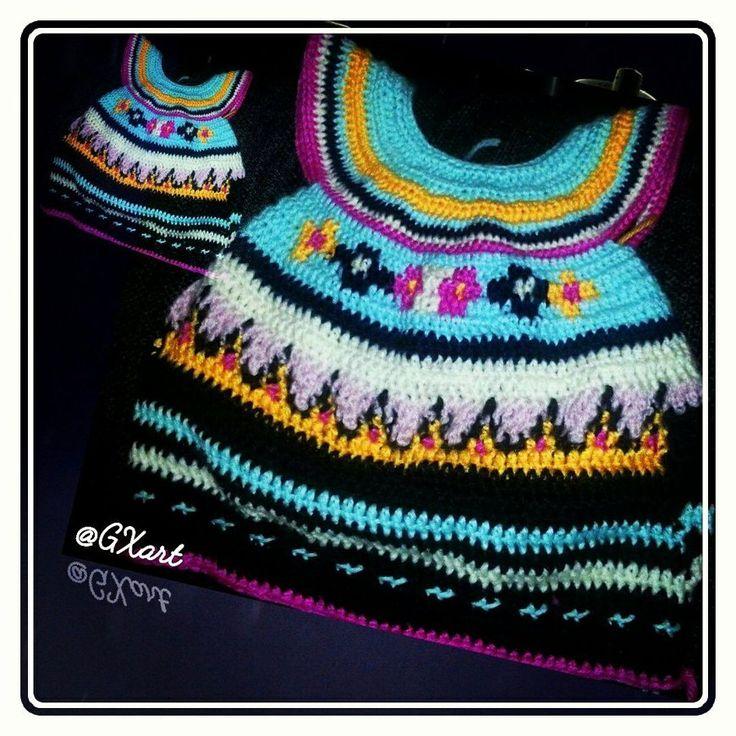 Baby dress crochet project by GXart Paper