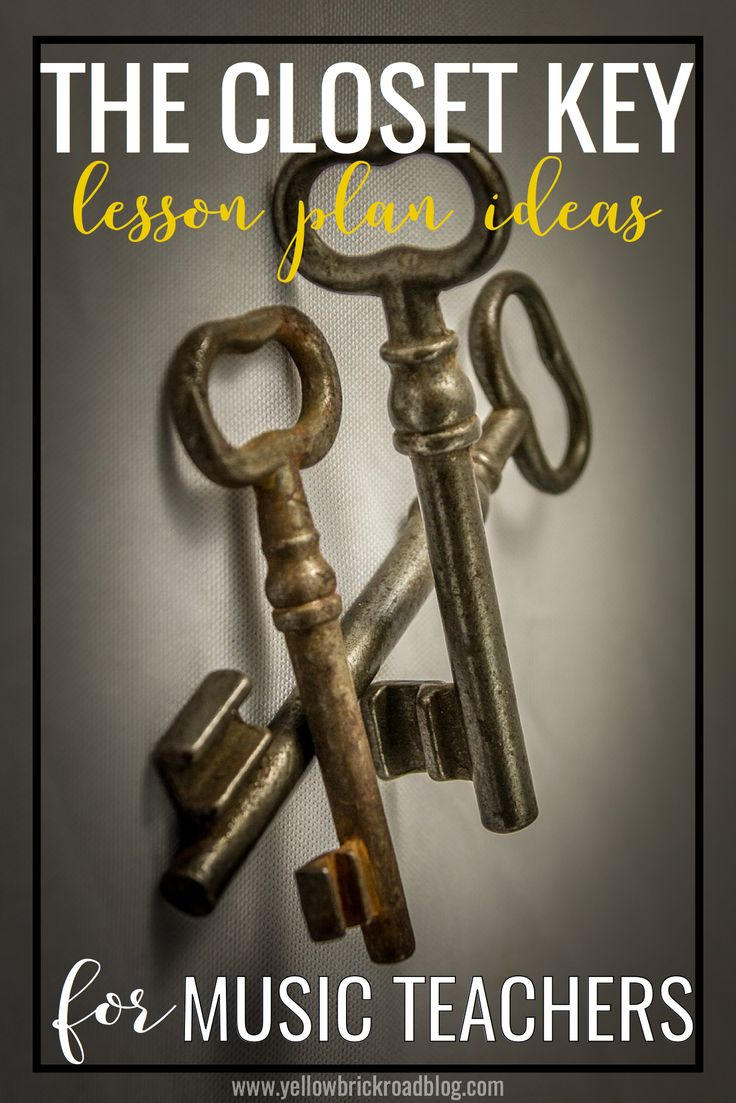 Great lesson ideas for The Closet Key. Instructions for a circle game and DIY Solfege magnets!