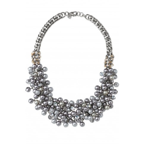 Stella & Dot Isadora Pearl Bib Necklace