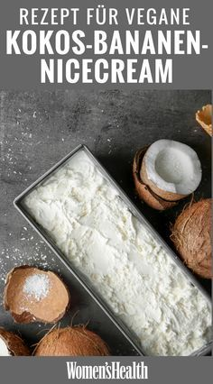 Creme agradável de coco e banana   – Rezepte