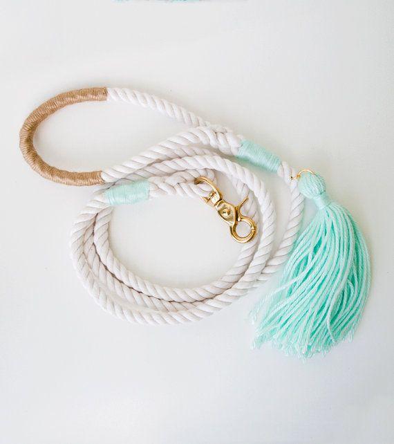 Bruiloft leiband / Mint & goud / nautische door theAtlanticOcean