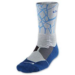 Men's Nike LeBron Hyper Elite Basketball Crew Socks - Large ...