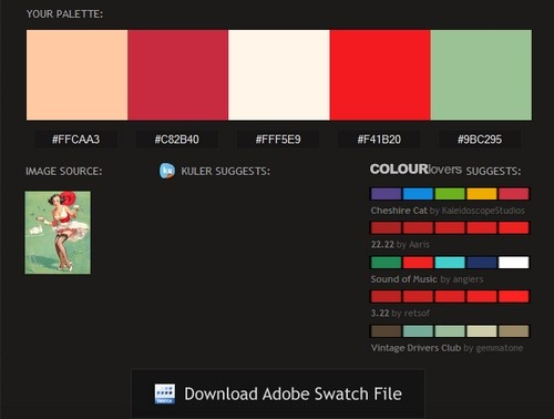 Pictaculous Pulls Color Palettes from Images