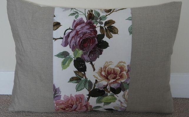 Cushion Pillow Handmade Vintage Rose £15.00