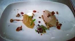 Image result for chicken liver and foie gras parfait