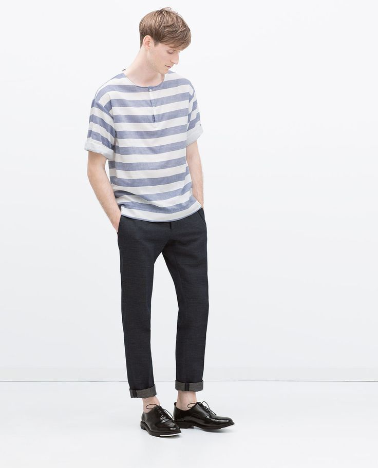 ZARA - MAN - STRIPED T-SHIRT