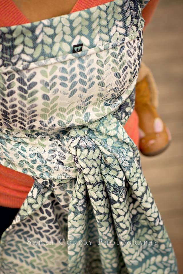 Woven Wings Knitwear Lichen Frost Wrap (merino) str 2