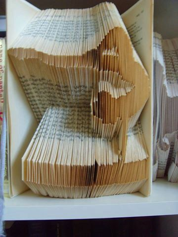 Book folding pattern Gymnast gymnastics Book art, book folding art Diy book…