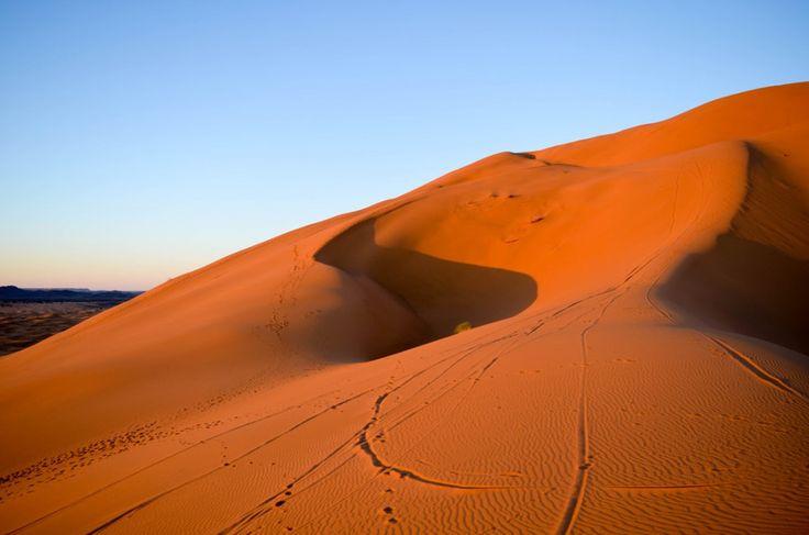 A la conquête du désert Marocain. #maroc #desert