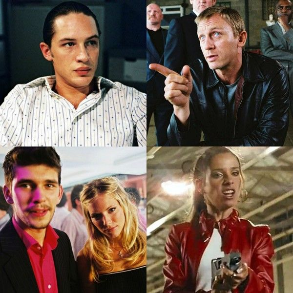 'Layer Cake' (2004) - Appearing before they were famous: Tom Hardy, Daniel Craig, Ben Whishaw, Sienna Miller, Sally Hawkins