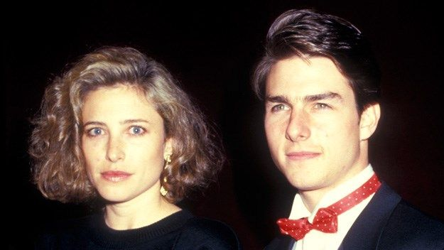 Mimi Rogers was Tom Cruise's first wife
