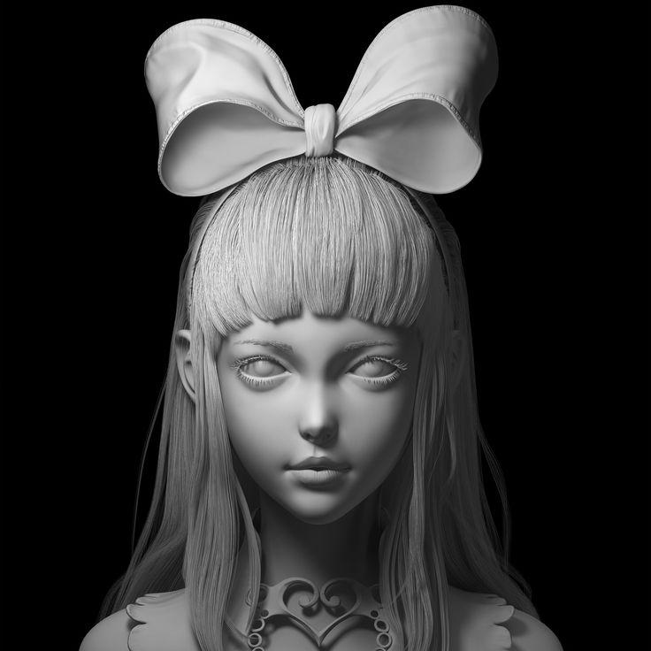ArtStation - Portrait exercise, Ryan Chan