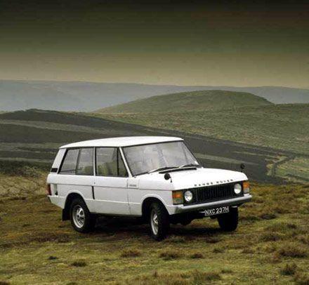 Range Rover Classic. 3 door. White.