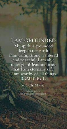Beautiful and Grounded.