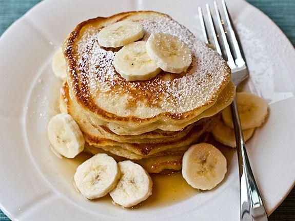 Banana Pancakes - Once Upon a Chef