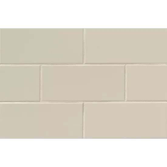 Bedrosians Traditions – Tender Gray Matte 4″ x 10″ Wall Tile