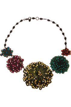 Firework Display Necklace £210 - AW10 The Age of Blazing Trails
