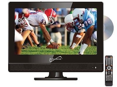 Supersonic SC-1312 13.3 LED HDTV Television +Built-in DVD Player +USB/SD/HDMI